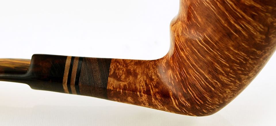 Italian Handmade Smoking Pipe Straight Grain