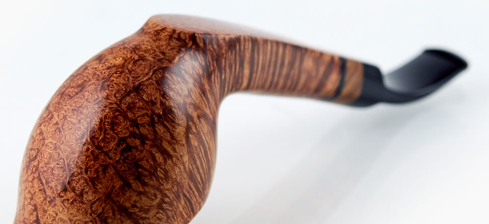 Smoking pipe Straight Grain